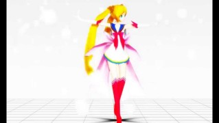 『セーラームーン』の美少女達がダンシング!
